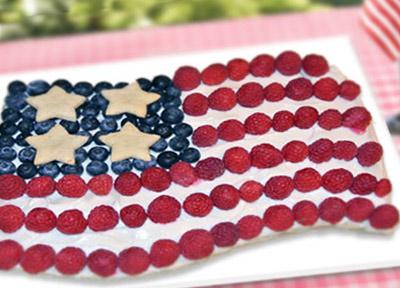 Harveys Supermarkets | American Flag Fruit Pizza Recipe